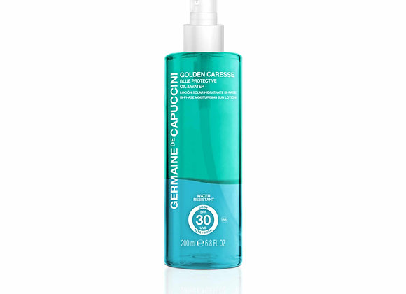 Golden Caresse Blue Protein Oil and Water Biphase SPF 30 200ml