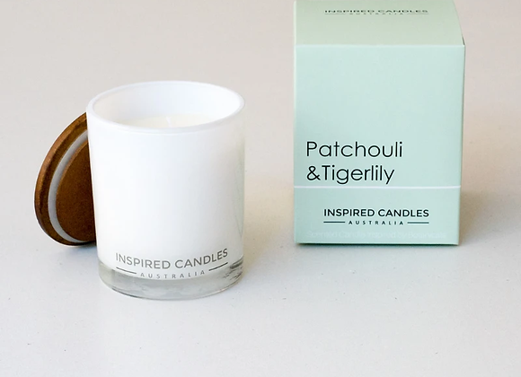 PATCHOULI & TIGERLILY CANDLE