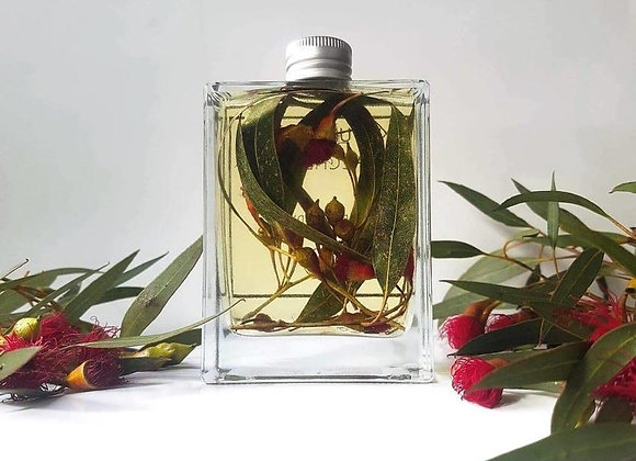 Herbal Infused Eucalyptus Body Oil with Mint Essence 100ml