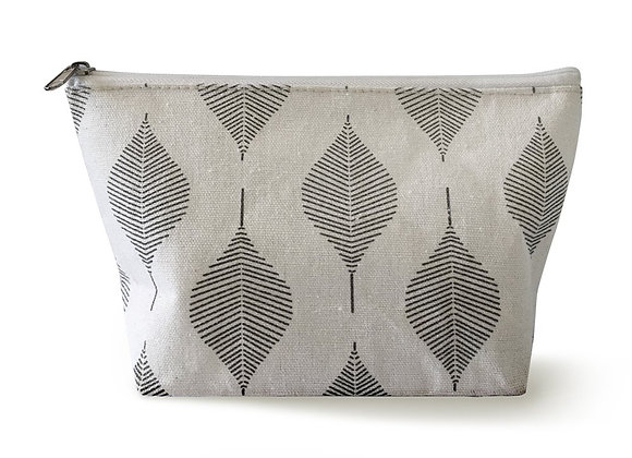 leaf cosmetic bag