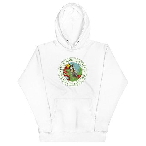 Unisex Hoodie - Long-eared Owl Project