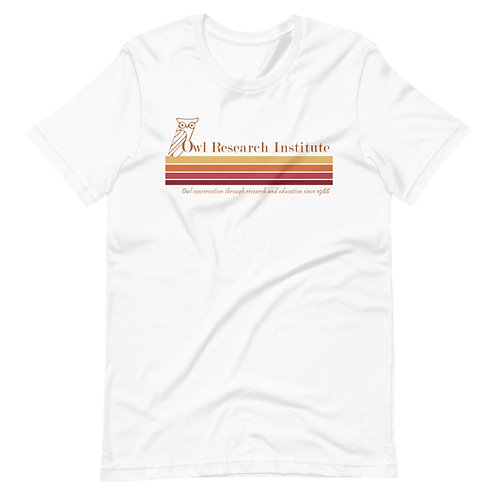 Short-Sleeve Unisex - Retro Logo Stripe