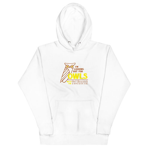 Unisex Hoodie - I'm Looking out for Owls