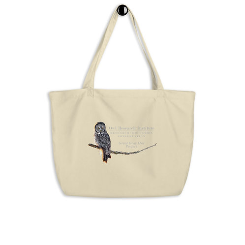 Large organic tote bag - Great Gray Project
