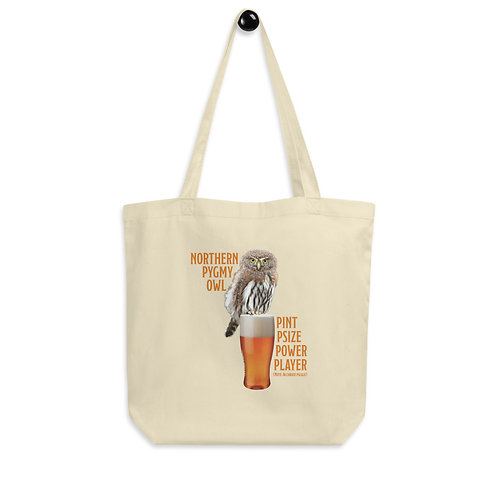 Eco Tote Bag - Pint Psize Power Player