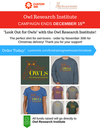 Get Your Owl Research Institute T-Shirt!