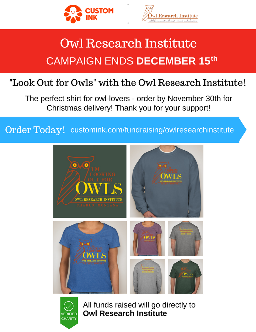 Owl Research Instiute T-shirts