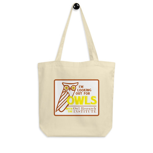 Eco Tote Bag - I'm Looking out for Owls