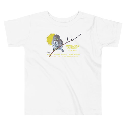Toddler Short Sleeve Tee - Northern Pygmy Owl Project