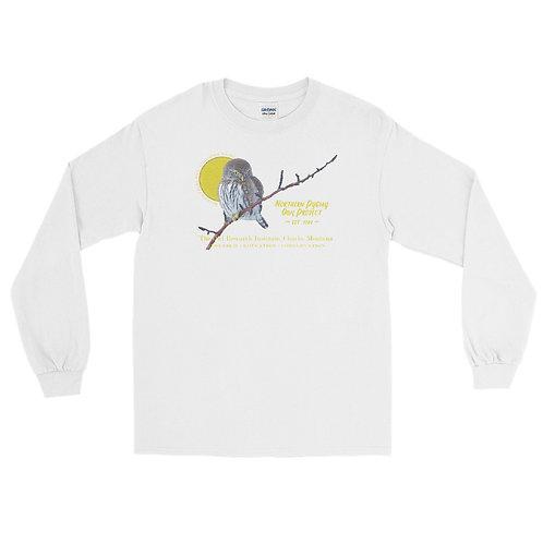 Men's Long Sleeve Shirt - Northern Pygmy Owl Project