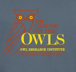 """I'm Looking Out for Owls"" T-shirt Campaign A Success - Thank You!"