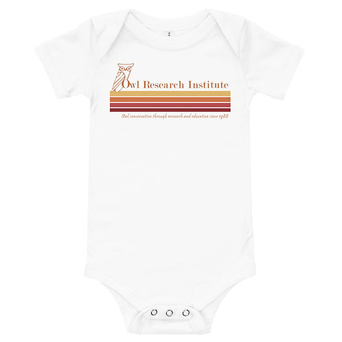 T-Shirt onesie - Retro logo stripe