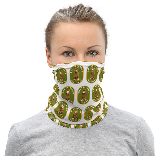 Neck Gaiter/Face Mask - Graphic Long-eared Owl