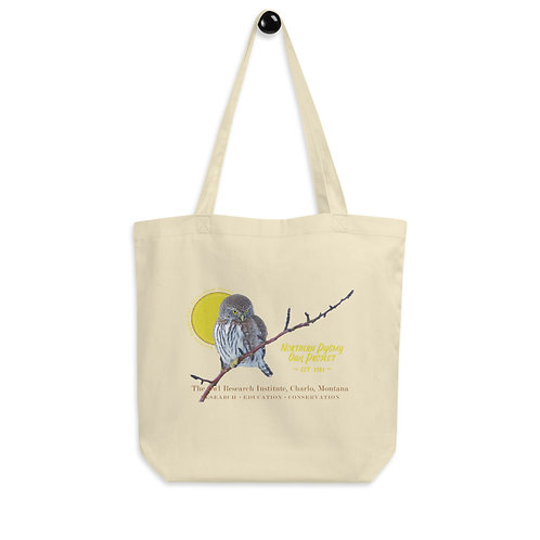 Eco Tote Bag - Northern Pygmy Owl Project