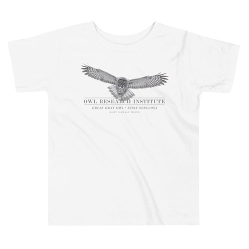 Toddler Short Sleeve Tee - Great Gray in flight