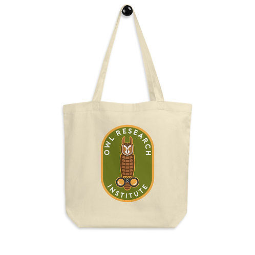 Eco Tote Bag - Graphic Long-eared Owl