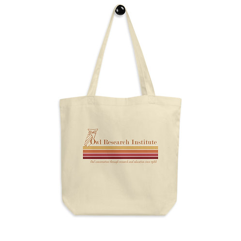 Eco Tote Bag - Retro logo stripe