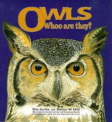 Owls whoo are they, denver holt, owl research institute, owl childrens book