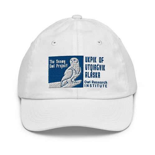 Youth baseball cap - Ukpik of Utqiagvik