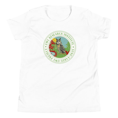 Youth T-Shirt - Long-eared Owl Project