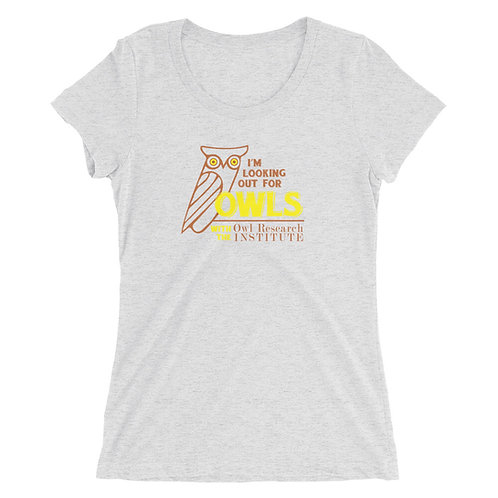 Juniors'/Ladies' short sleeve - I'm Looking out for Owls