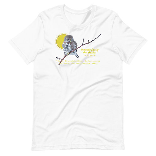 Short-Sleeve Unisex - Northern Pygmy Owl