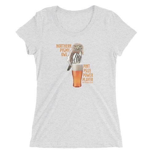 Juniors'/Ladies' t-shirt - Pint Psize Power Player