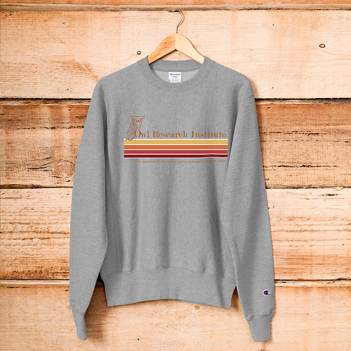 Champion Sweatshirt - Retro logo stripe
