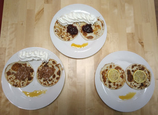 Pancake day all the time !
