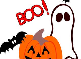 Halloween on Saturday 31th October