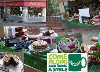 Thank you for your participation in the Mac Millan Coffee morning