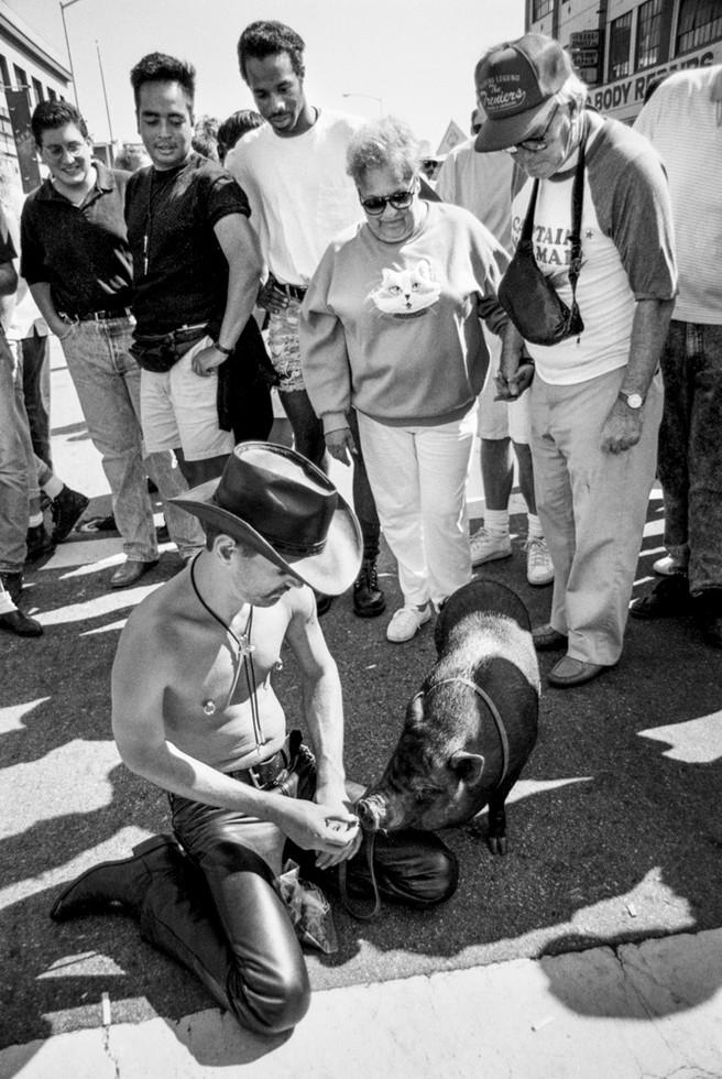 Folsom Street Fair, San Francisco, 1991