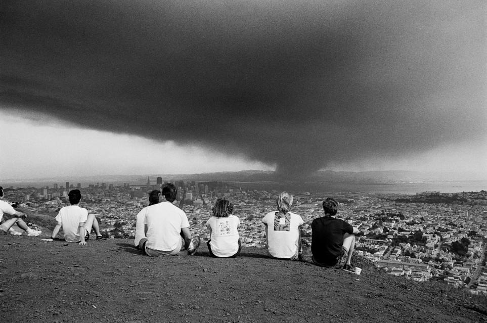 East Bay hills fire, 1991