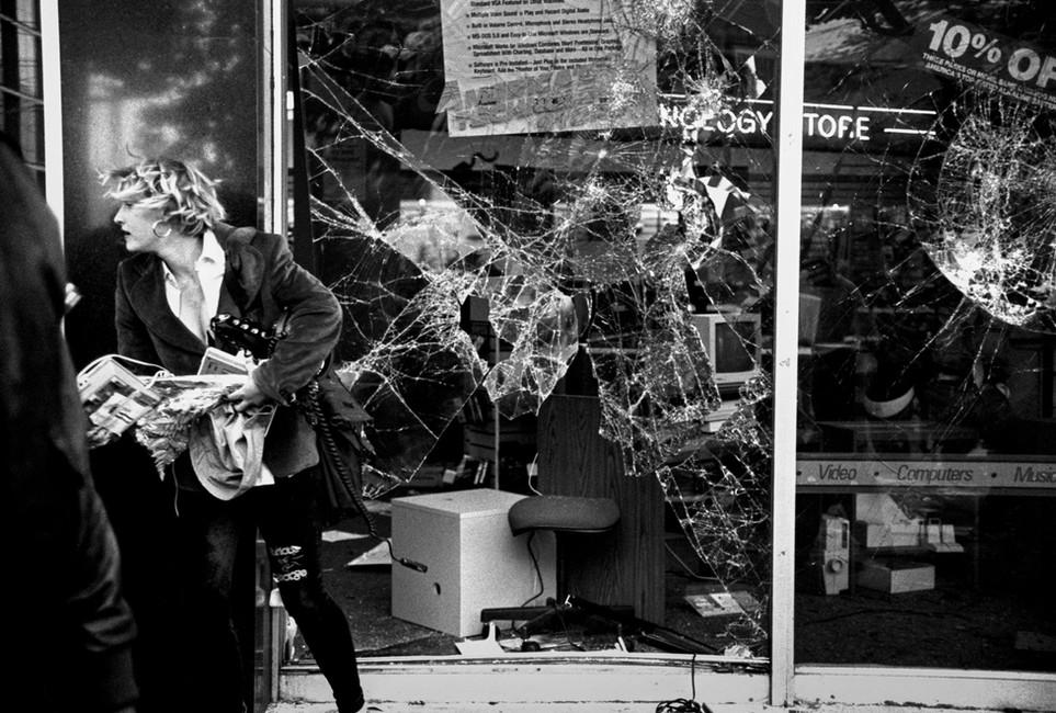 Rodney King riot, San Francisco 1991