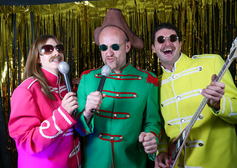 Fun party photo booths