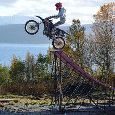Maria Sandberg norjalainen FMX-kuski - Tampere Supercross