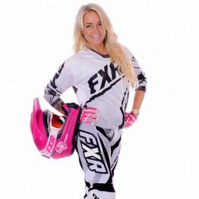 Jennie Hallestam FMX-kuski ruotsista - Tampere Supercross