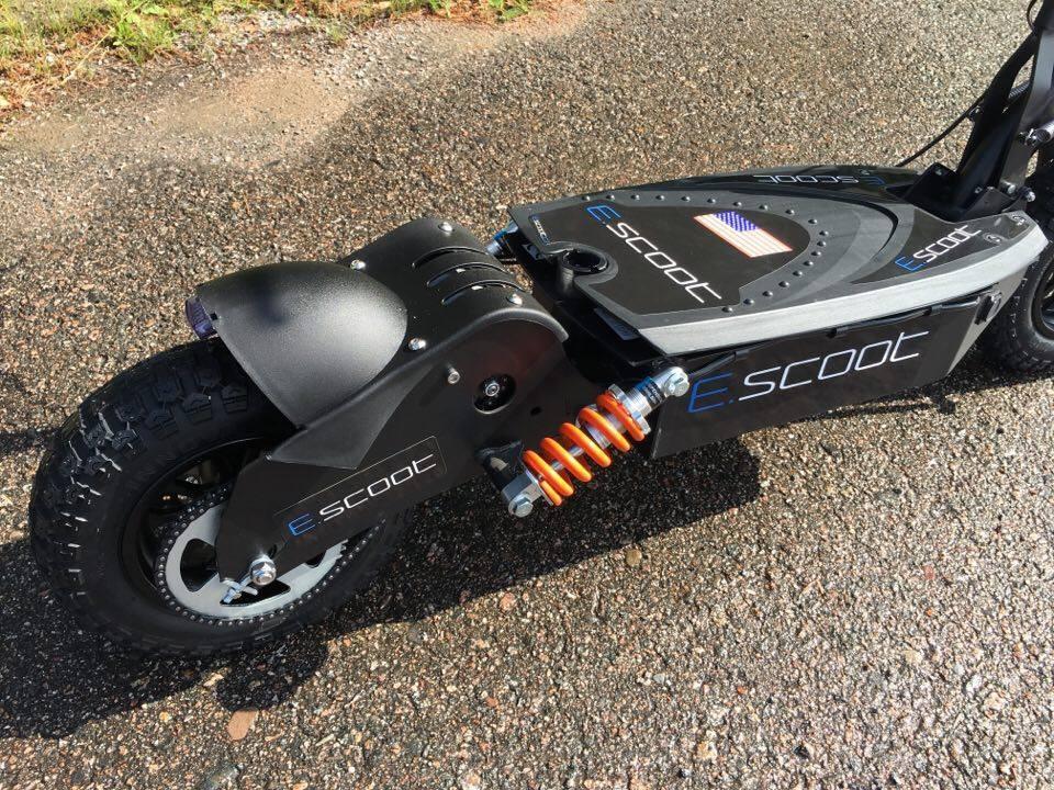 E-scoot 1600w laadukkas ja vankka ketjuveto