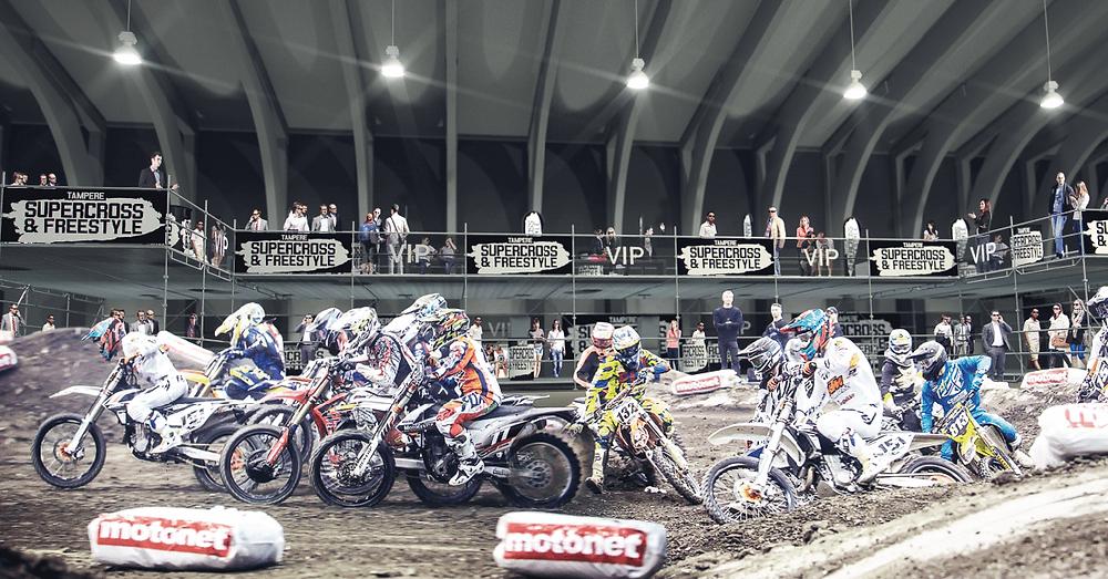 Uudistunut Supercross VIP  parhaaseen pikkujouluaikaan!