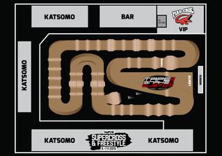Täysin uudistettu Tampere Supercross ratakartta on julkaistu