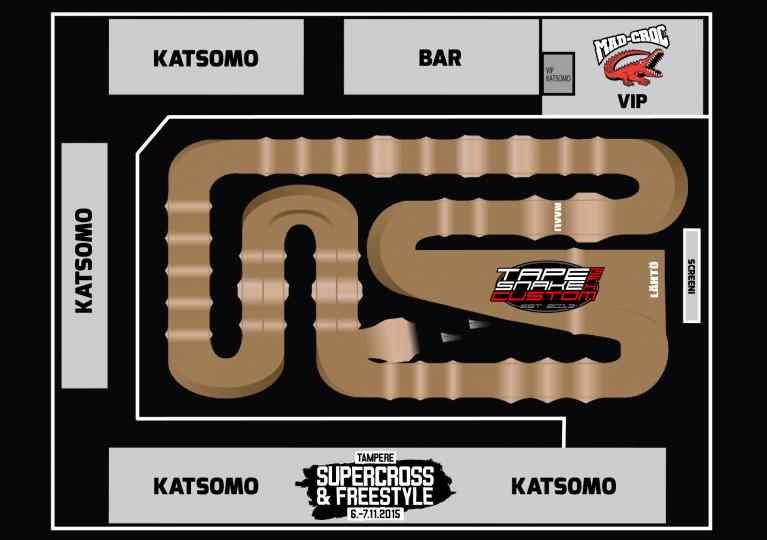 Tampere Supercross ja entistä suurempi VIP-alue