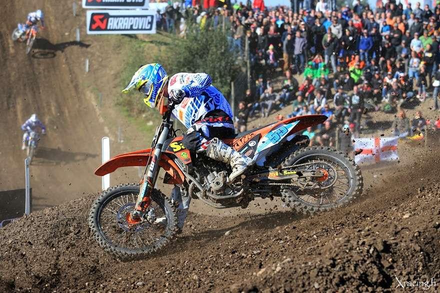 Suomen Motocross -maajoukkue ja Tampere Supercross