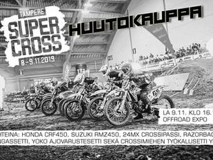 Todellinen crossikuskin huutokauppa Tampere Supercrossissa