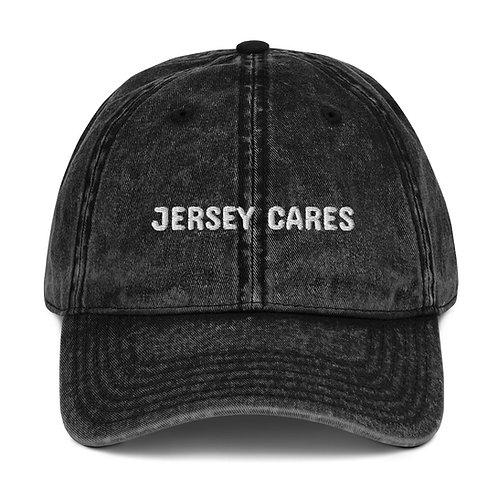 Vintage Jersey Cares Cap