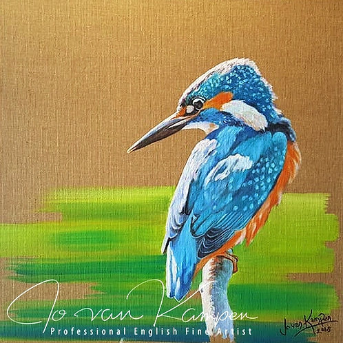 Contemporary Kingfisher.
