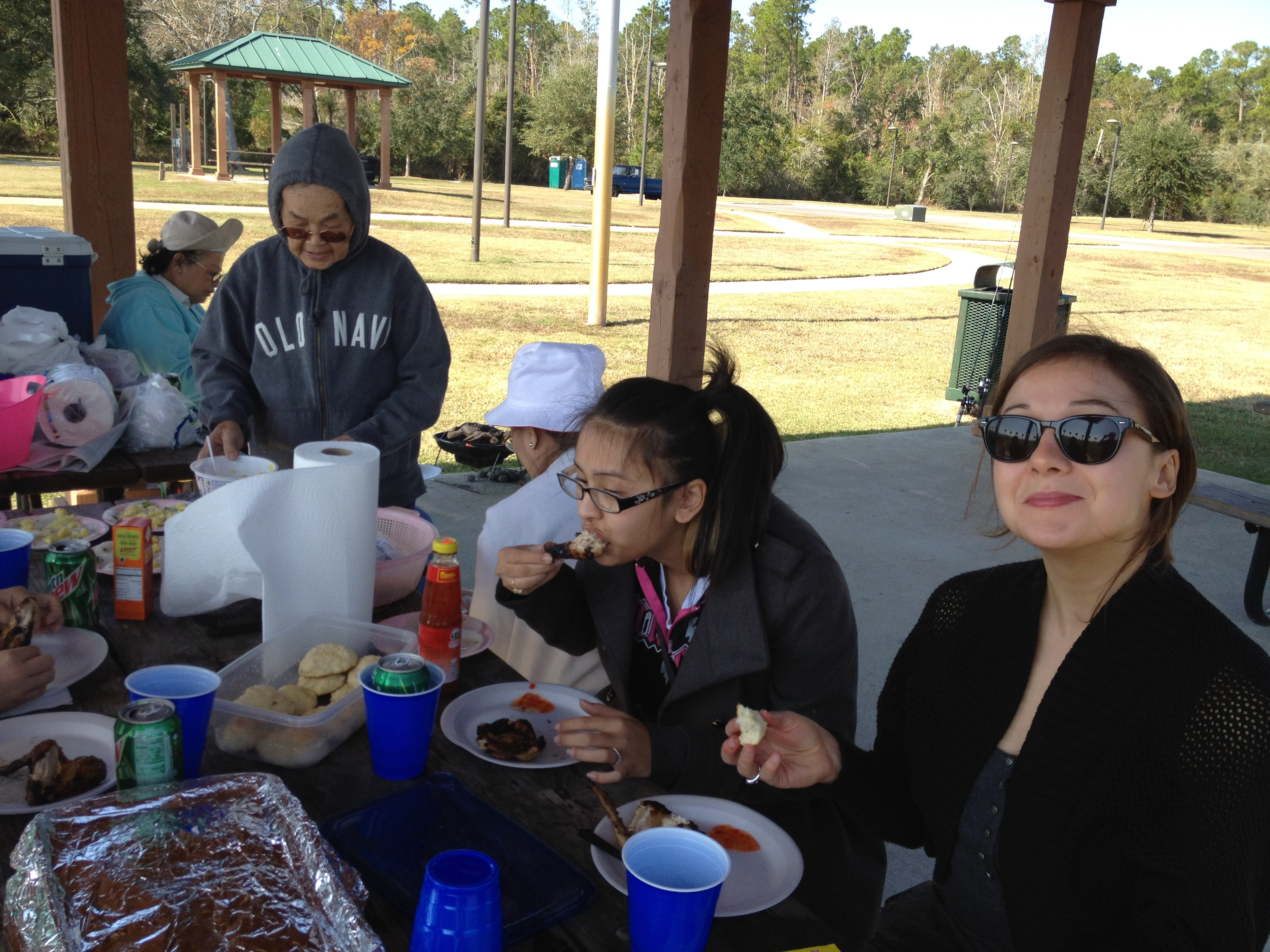 Seniors and Youth Outdoor Picnic