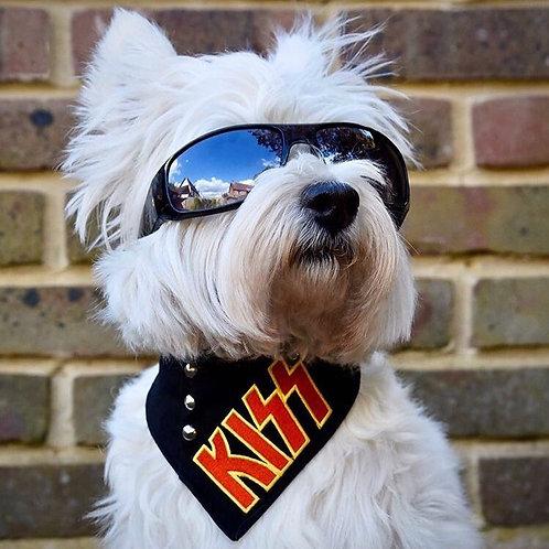 Kiss Dog Bandana
