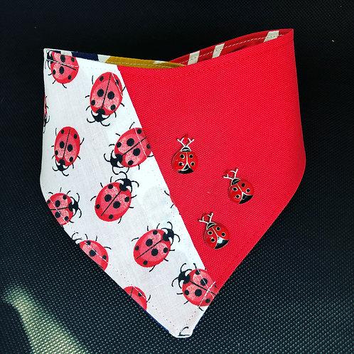 Ladybug Ladybird Dog Bandana