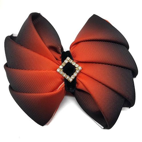 Ombre Kanzashi Bow Tie
