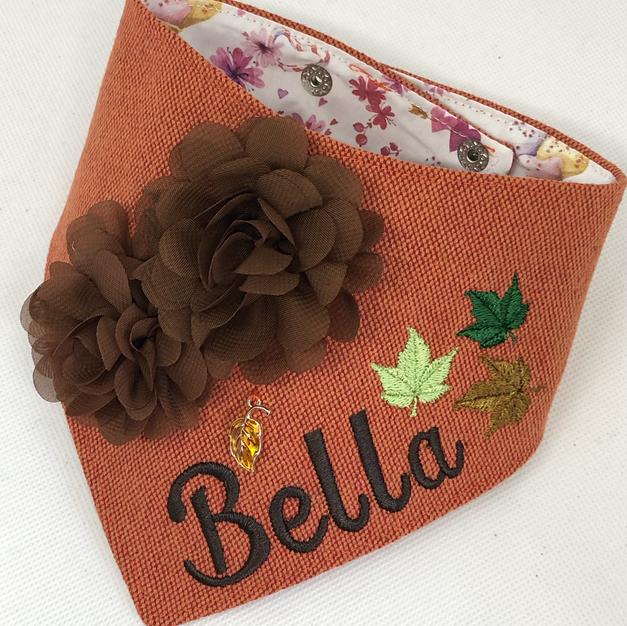 Fall Bandana for Bella Luna